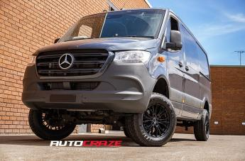 Mercedes SPRINTER ULTIMATE II MATTE BLACK