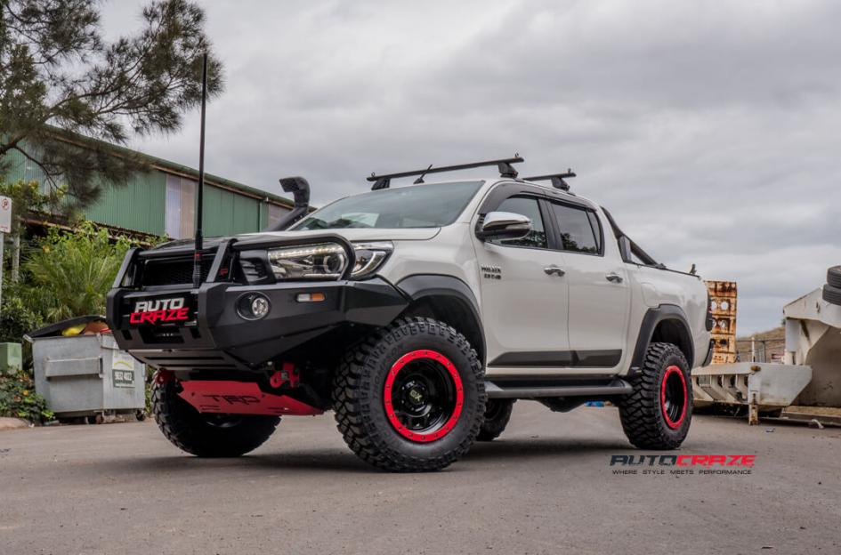Toyota Hilux 4wd Rg2 Satin Black 1517526564 Car Gallery