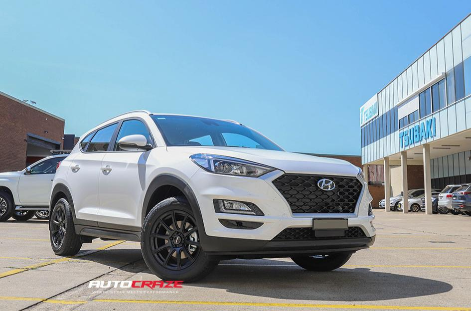 HYUNDAI TUCSON CARBINE SATIN BLACK