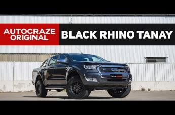 Ford RANGER TANAY MATTE BLACK MACHINED FACE WITH DARK MATTE TINT