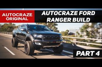 Ford RANGER FFC30 CUSTOM ANTHRACITE WITH CANDY APPLE RED ACCENT
