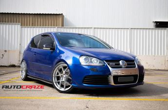 VOLKSWAGEN GOLF STAGE FULL POLISH SILVER
