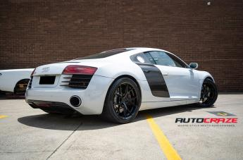 AUDI R8 SF10 SATIN BLACK  small