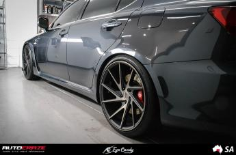 LEXUS ISF INVERT MATTE BLACK TINTED FACE small