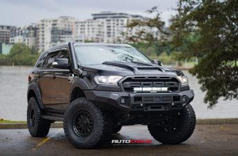 Ford EVEREST OMEGA XD856 SATIN BLACK