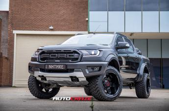 Ford RANGER AB811 SATIN BLACK GLOSS INSERTS