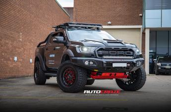 Ford RANGER RAPTOR STROKE GLOSS BLACK W/CANDY RED