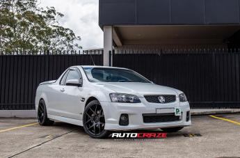 Holden COMMODORE VE UTE STAGE MATTE BLACK