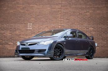 Honda CIVIC (5 STUD) MR140 SATIN BLACK