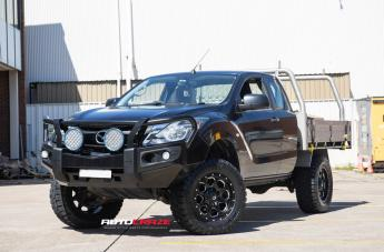 Mazda BT-50 BOOST GLOSS BLACK MILLED ACCENTS