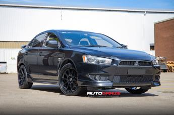 Mitsubishi LANCER ROTATE MATTE BLACK