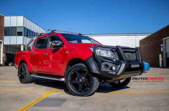 NISSAN NAVARA GD04 MATTE BLACK  small