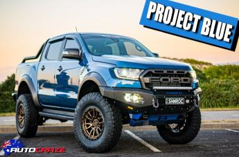Ford RANGER RAPTOR REBEL MATTE BRONZE BLACK LIP
