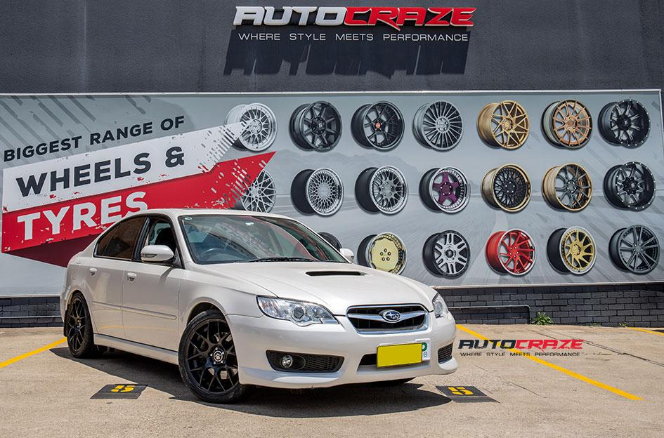 SUBARU LIBERTY M SPEC MATTE BLACK