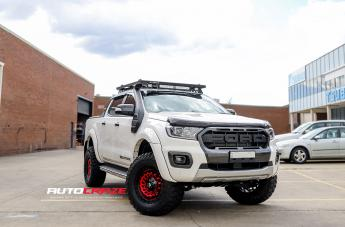 Ford RANGER ZOMBIE GLOSS BLACK MACHINED RED