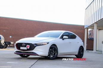Mazda 3 KATANA SATIN BLACK