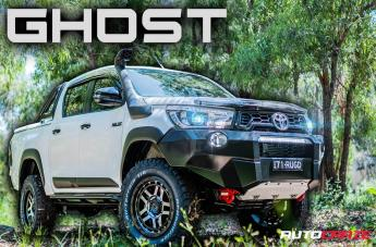 Toyota HILUX 4WD RECON SATIN BLACK MACHINED