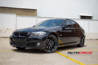 BMW 3 SERIES SECTOR SATIN BLACK  small