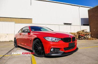 BMW 4 SERIES IFG34 FLAT BLACK