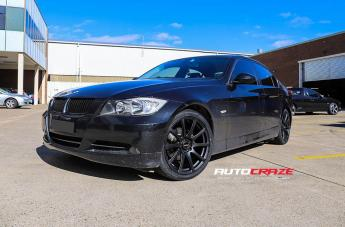 BMW 3 SERIES CARBINE SATIN BLACK