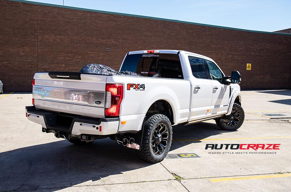 FORD F250 ASSAULT GLOSS BLACK MILLED ACCENTS