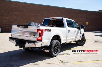 FORD F250 ASSAULT GLOSS BLACK MILLED ACCENTS  small