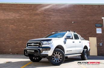 FORD RANGER VECTOR MATTE GUN METAL  small