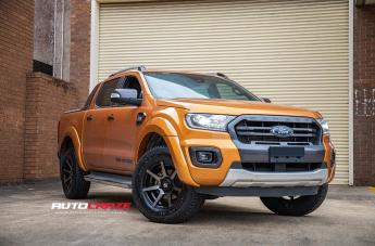 Ford RANGER AVALANCHE MATTE BLACK GREY FACE