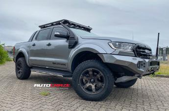 Ford RANGER BEAST BLACK & MACHINED WITH DARK TINT