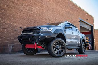 Ford RANGER CONTRA MATTE BLACK MILLED