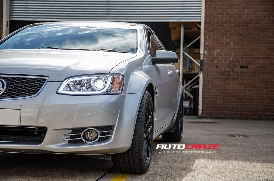 HOLDEN COMMODORE IFG 39 BLACK