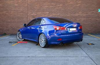 LEXUS IS350 RSE SILVER  small