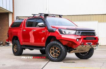 Toyota HILUX 4WD DIRTY HARRY MATTE BRONZE BLACK LIP
