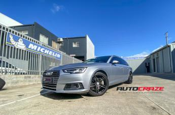 Audi A4 (2003 ONWARDS) ABL12 GLOSS BLACK