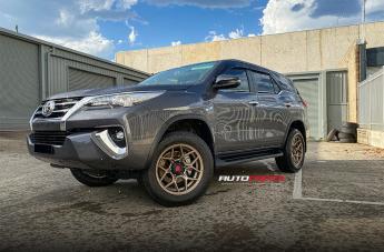 Toyota FORTUNER SABBATH BRONZE