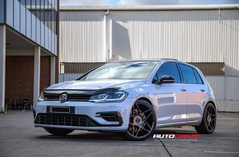 VOLKSWAGEN GOLF IFG11 GLOSS BLACK MACHINED FACE