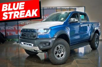 Ford RAPTOR SHOK ANTHRACITE