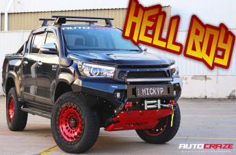 Toyota HILUX 4WD ZEPHYR CANDY RED