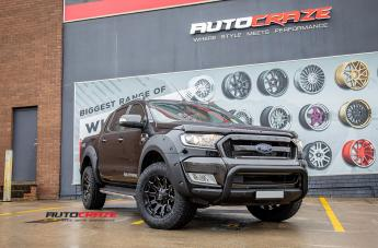 FORD RANGER BATTLE AXE GLOSS BLACK MILLED ACCENTS  small