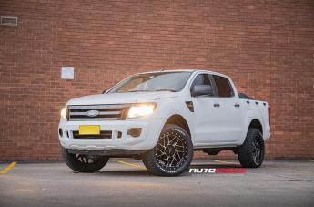 Ford RANGER MO985 GLOSS BLACK MACHINED