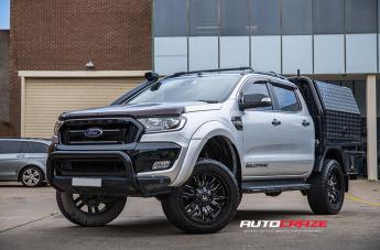 Ford RANGER SLEDGE GLOSS BLACK MILLED ACCENTS