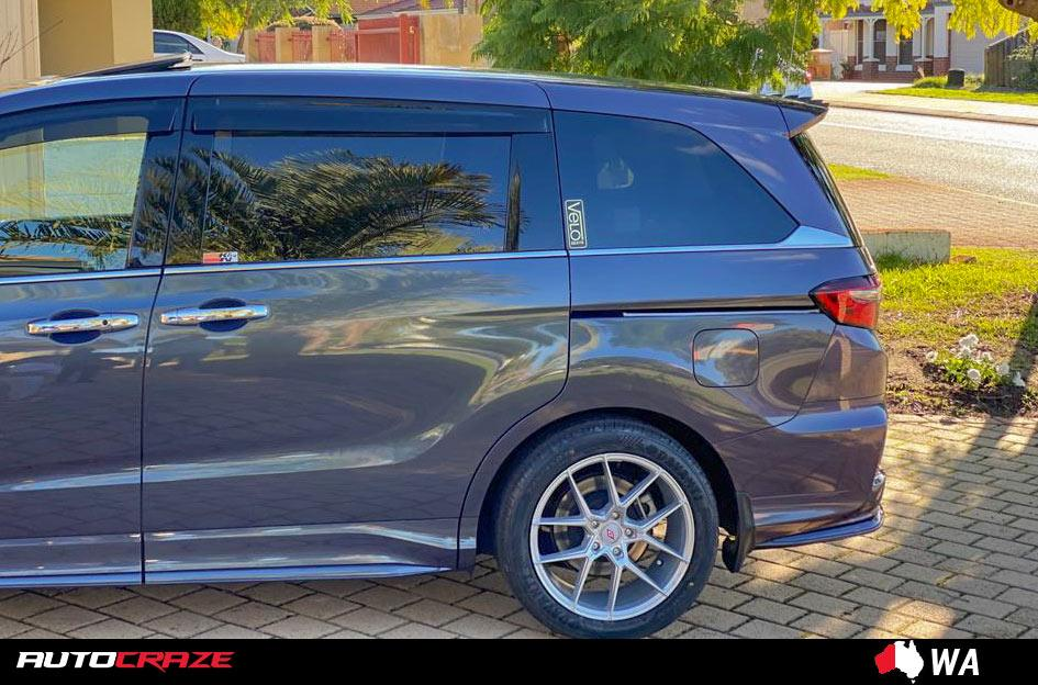 HONDA ODYSSEY IFG39 SILVER MACHINED FACE