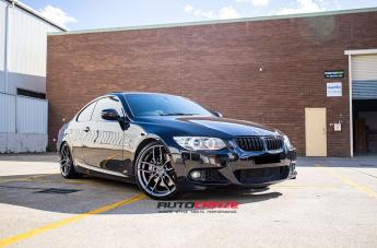 BMW 3 SERIES VOSSO ANTHRACITE  small