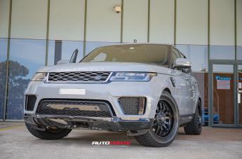 Land Rover RANGE ROVER SLEDGE MATTE BLACK