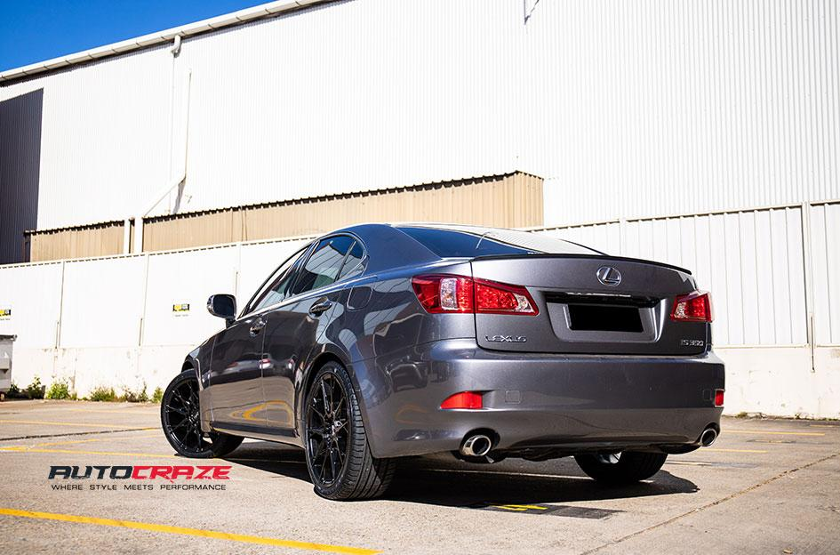 LEXUS IS350 STACCATO MATTE BLACK