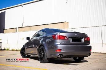 LEXUS IS350 STACCATO MATTE BLACK  small