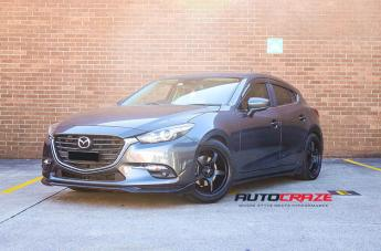 Mazda 3 MR131 SATIN BLACK
