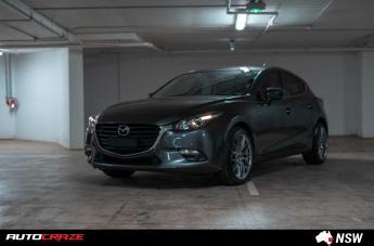 Mazda 3 HOCKENHEIM HYPER BLACK