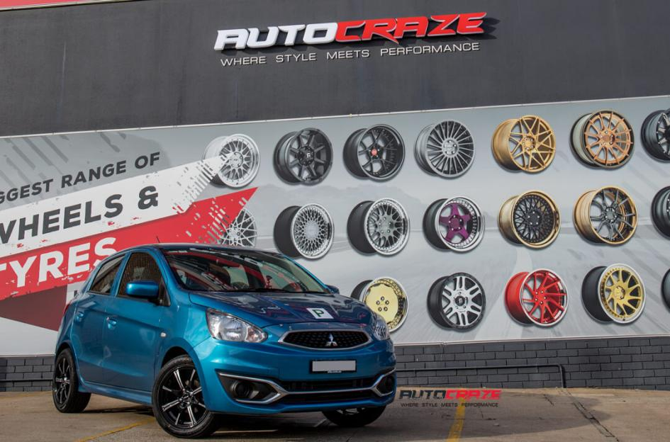 Mitsubishi Mirage Wheels