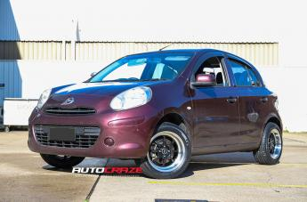 Nissan MICRA TUNING BLACK POLISH LIP